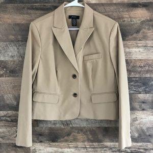 16 New Body By Victoria Two Button Blazer Jacket